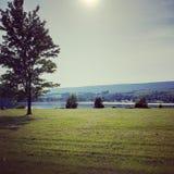 День озера изображени совершенный Стоковая Фотография