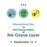 День озонового слоя Стоковые Фото