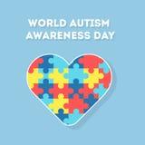 День осведомленности аутизма мира Стоковое Изображение RF