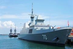 День открытых дверей военно-морского флота Сингапура Стоковая Фотография