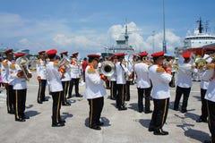 День открытых дверей военно-морского флота Стоковые Изображения RF
