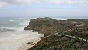 день плащи-накидк хороший hiking упование бурное Стоковое Изображение