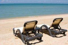 день пляжа солнечный Стоковое Изображение RF