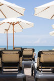 день пляжа солнечный Стоковые Изображения RF