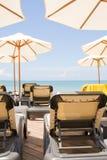день пляжа солнечный Стоковые Фотографии RF
