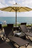 день пляжа солнечный Стоковая Фотография RF