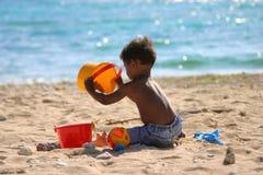 день пляжа Стоковая Фотография RF