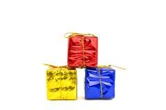 День подарочных коробок счастливый Стоковое Фото