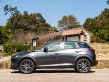 День привода испытания Mazda CX-3 2017 Стоковые Изображения