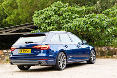 День привода quattro Audi A4 Avant 45 TFSI Стоковое Изображение RF