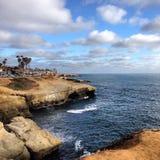 День пляжа в Сан-Диего Стоковое фото RF