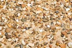 День пляжа утесов Стоковое фото RF