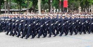 День республики в Париж Стоковая Фотография