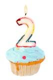 день рождения во-вторых Стоковое Изображение