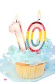 день рождения десятое Стоковая Фотография