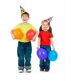 день рождения покрывает малышей Стоковые Изображения RF