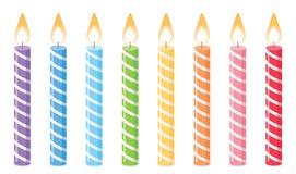день рождения предпосылки миражирует белизну иллюстрация штока