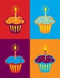 день рождения предпосылки Стоковое фото RF