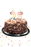 день рождения пятые 20 годовщины Стоковые Изображения
