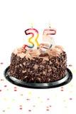 день рождения пятые 30 годовщины Стоковое Изображение RF