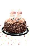 день рождения пятые 50 годовщины Стоковая Фотография RF