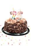 день рождения пятые 70 годовщины Стоковое Фото