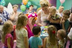 День рождения ребенка стоковые фото