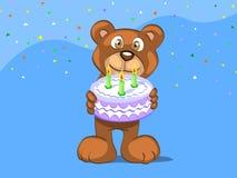 день рождения счастливый к вам Стоковые Изображения