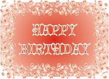 день рождения счастливый Стоковая Фотография RF