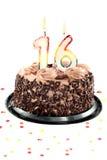 день рождения шестнадцатое годовщины Стоковые Изображения