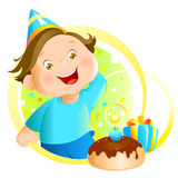 день рождения иллюстрация штока