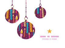 День рождения вектора красочный миражирует рождество иллюстрация вектора