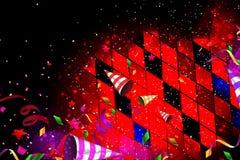День рождения или живая предпосылка партии Стоковое Изображение