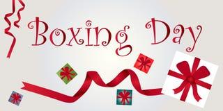 День рождественских подарков, 26-ое декабря Стоковая Фотография RF