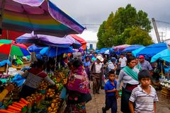 День рынка стоковая фотография