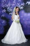 День свадьбы & захват, азиатская женщина, азиатская невеста Стоковая Фотография