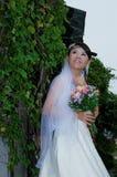 День свадьбы & захват, азиатская женщина, азиатская невеста Стоковые Изображения