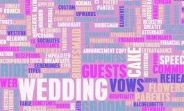День свадьбы Стоковые Фото