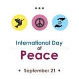 День сентябрь мира Стоковые Фото