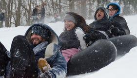День снега Стоковая Фотография