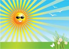 день солнечный Стоковое Изображение
