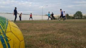 День спорта футбола Стоковая Фотография