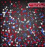 День счастливой памяти Мы всегда будем вспоминать Cofee в цветах австралийского флага злокозненная предпосылка для открытки Стоковое Изображение RF