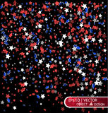 День счастливой памяти Мы всегда будем вспоминать Cofee в цветах австралийского флага злокозненная предпосылка для открытки Стоковые Изображения