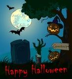 День хеллоуина иллюстрации Стоковые Изображения