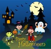 День хеллоуина иллюстрации Стоковое фото RF