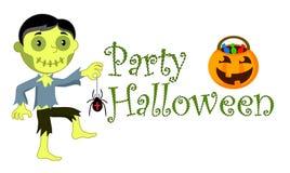 День хеллоуина иллюстрации Стоковое Изображение RF