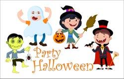 День хеллоуина иллюстрации Стоковое Фото