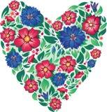 день цветет Валентайн сердца s Стоковые Изображения