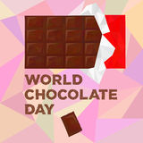 День шоколада мира Стоковые Изображения